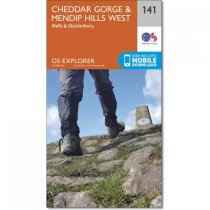 Explorer Active 141 Cheddar Gorge & Mendip Hills West