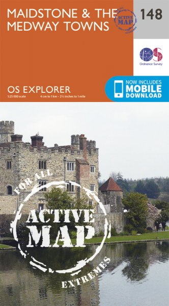 Explorer Active 148 Maidstone & the Medway Towns