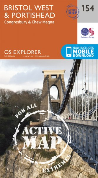 Explorer Active 154 Bristol West & Portishead
