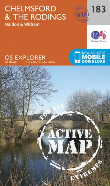 Explorer Active 183 Chelmsford & the Rodings