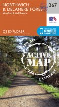 Explorer Active 267 Northwich & Delamere Forest
