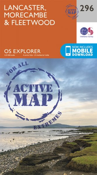 Explorer Active 296 Lancaster, Morecambe & Fleetwood