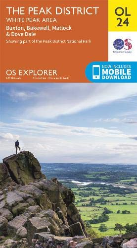 Explorer OL 24 The Peak District