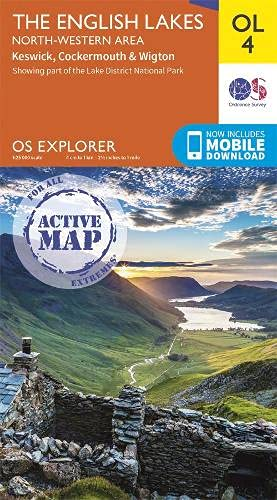 Explorer Active OL 04  English Lakes North Western Area