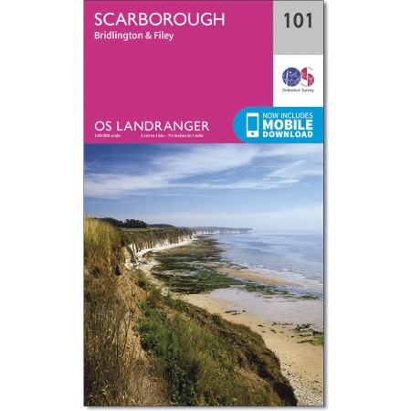 Landranger 101 Scarborough, Bridlington & Filey