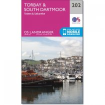 Landranger 202 Torbay & South Dartmoor, Totnes & Salcombe