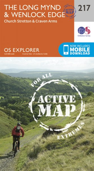Explorer Active 217 Long Mynd & Wenlock Edge