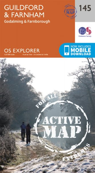Explorer Active 145 Guildford & Farnham