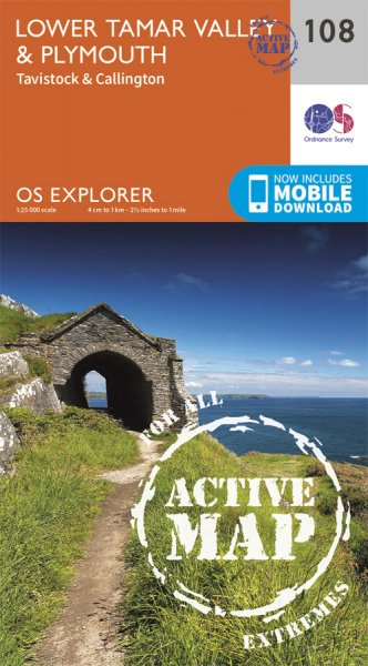 Explorer Active 108 Lower Tamar Valley & Plymouth