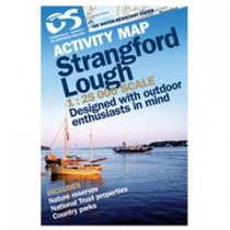 Activity Map Strangford Lough Laminated