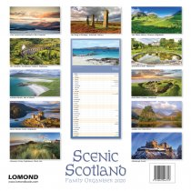 2020 Calendar Scenic Scotland Fam Organiser (2 for 6v)(Mar)