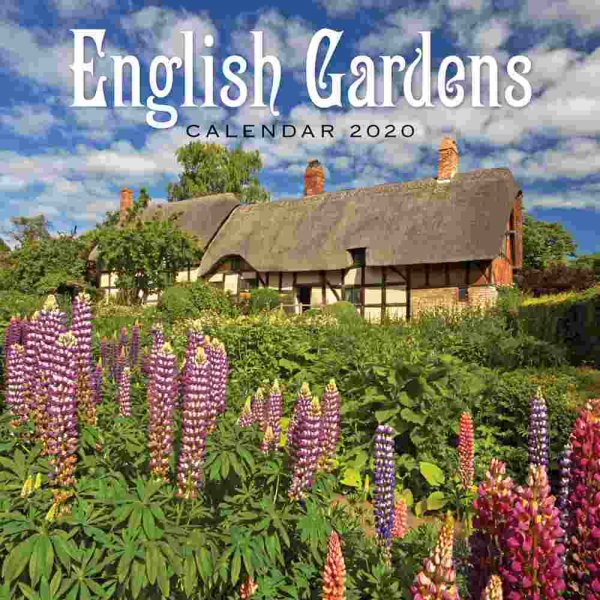2020 Calendar Gardens of England (2 for 6v) (Mar)