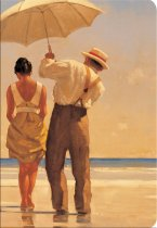 Jack Vettriano Mad Dogs Notebook (Feb)