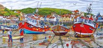 Jigsaw Seagulls at Staithes 636pc