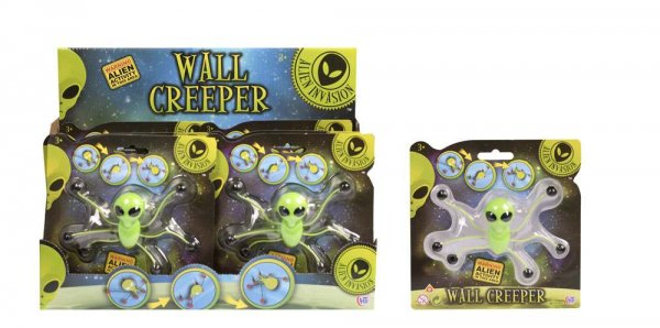 Alien Invasion Wall Creeperz (DPU12) (Feb)