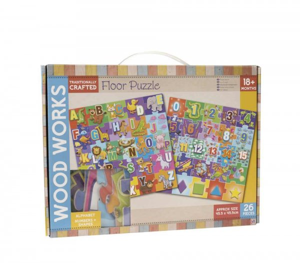 Wood Works Floor Puzzle (PU12) (Feb)