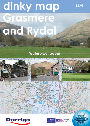 Dinky Map Grasmere And Rydal (Waterproof)
