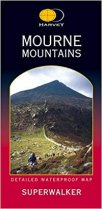 Superwalker Map Mournes Mountains