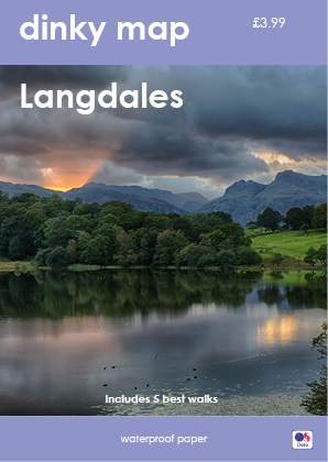 Dinky Map Langdale (Waterproof)