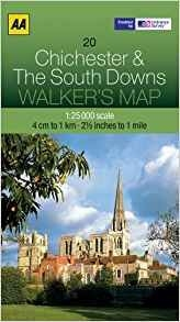 Walkers Map 20 Chichester & the South Down