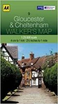Walkers Map 09 Gloucester & Cheltenham
