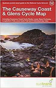 Causeway Coast & Glens 52 Cycle Route Map