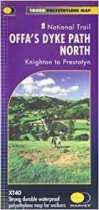 XT40 National Trail Map Offa's Dyke North