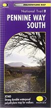 XT40 National Trail Map Pennine Way South