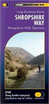 XT40 National Trail Map Shropshire
