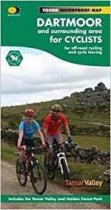 Cycling Map Dartmoor