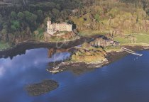 Dunvegan Castle, Isle of Skye From Air 2 Postcard (H Std CB)