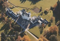 Blair Castle, Perthshire From Air Postcard (H Std CB)