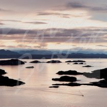 Summer Isles, Wester Ross Greetings Card (CB)