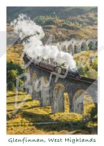 Glenfinnan Viaduct, West Highlands 1 Magnet (V CB)