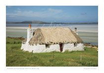 North Uist Croft House, Western Isles Print