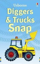 Snap Cards: Diggers (Usborne) (RRP £5.99v)