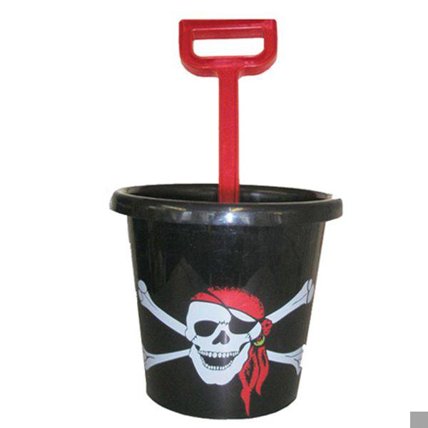 Pirate Skull Bucket & Spade Set (RRP £3.50v)