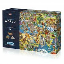 Jigsaw Wonderful World 1000pc (Nov)