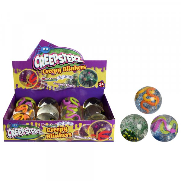 Creepsterz Light Up Creepy Blinkers(RRP £1.99v) (CPU12)(Feb)