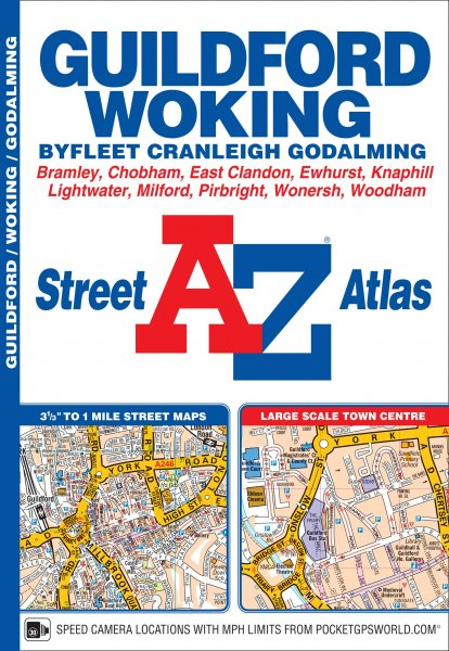 Guildford & Woking Street Atlas