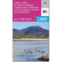 Landranger 13 West Lewis & North Harris