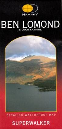 Superwalker Map Ben Lomond & Loch Katrine