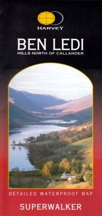Superwalker Map Ben Ledi & North of Callander