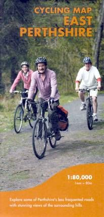 Cycling Map East Perthshire