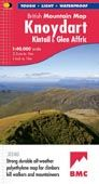 British Mountains Map Knoydart & Kintail
