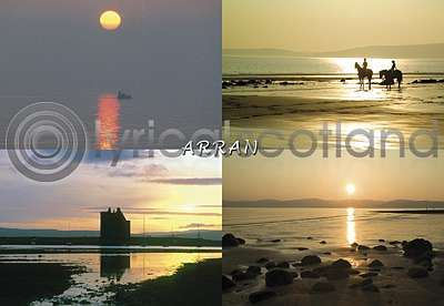 Arran Sunsets (Comp) (HA6)
