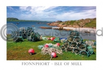 Fionnphort Beach, Ross of Mull Postcard (HA6)