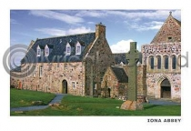 Iona Abbey Postcard (HA6)