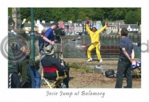Josie Jump At Balamory Postcard (HA6)