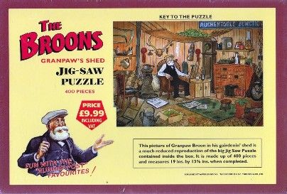 Broons Jig-Saw Granpaw's Shed